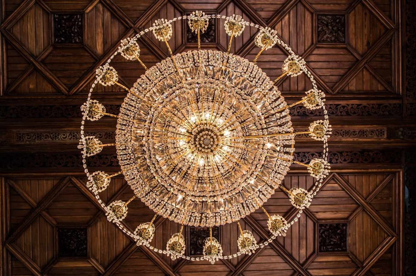 Resized Large Landscape Chandelier