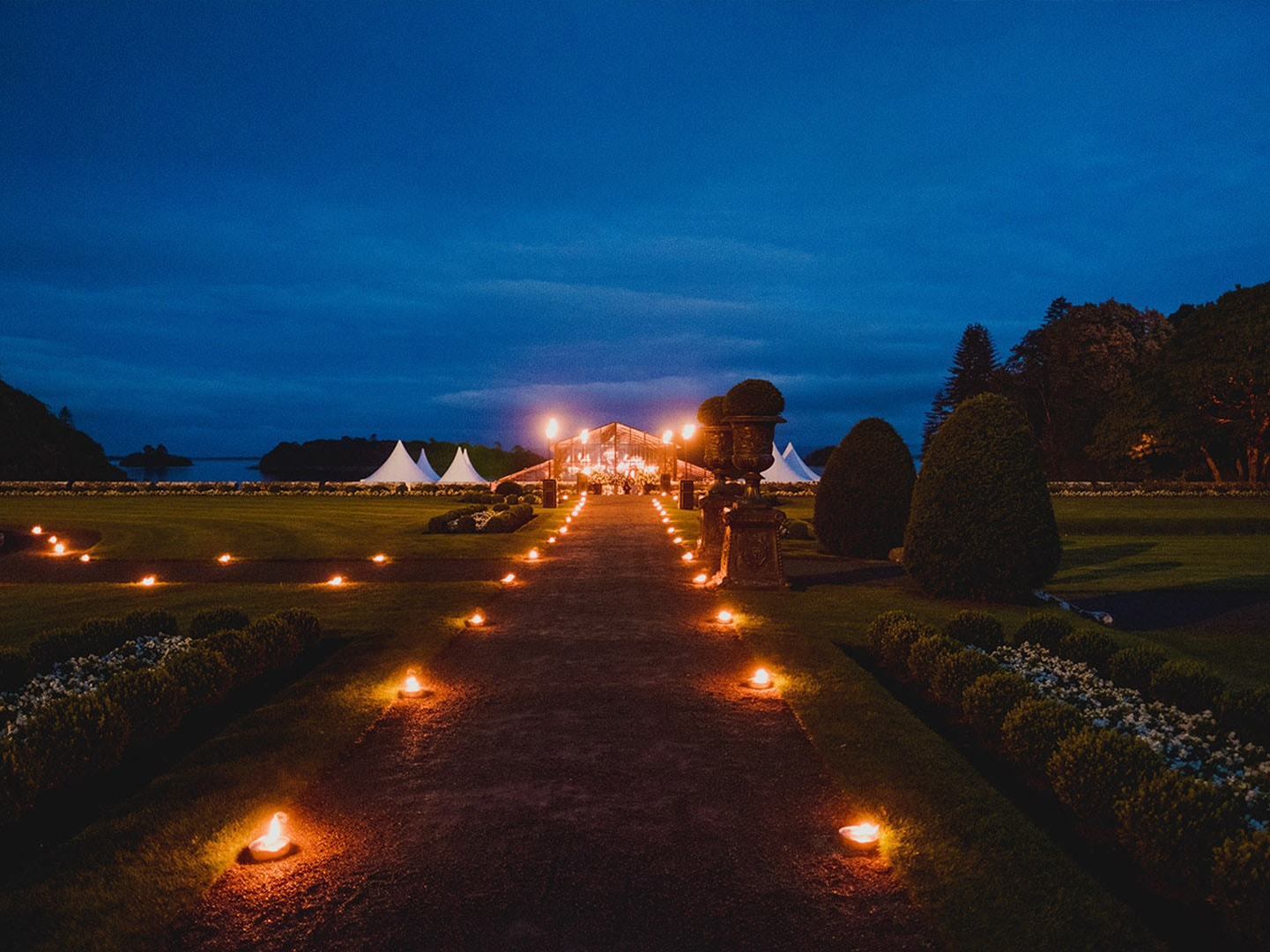 Marquee Wedding Ashford Castle Ireland 1 Min