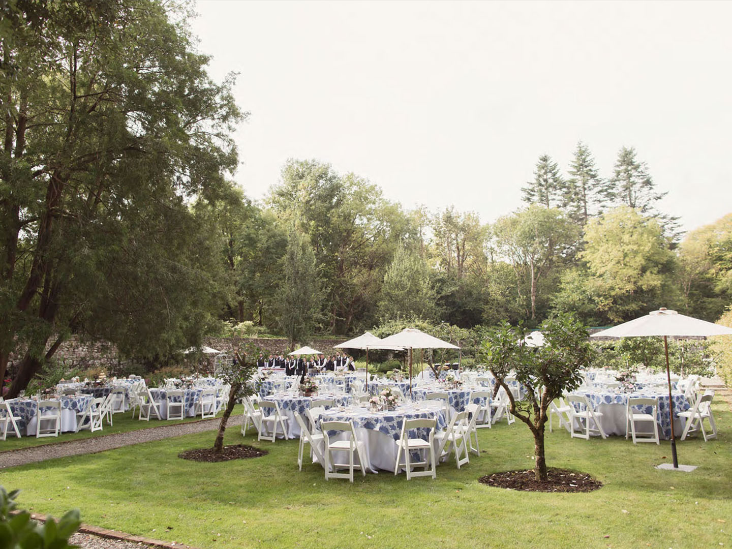 27 Tea Party Lunch At The Walled Garden Ashford Castle Ireland Min