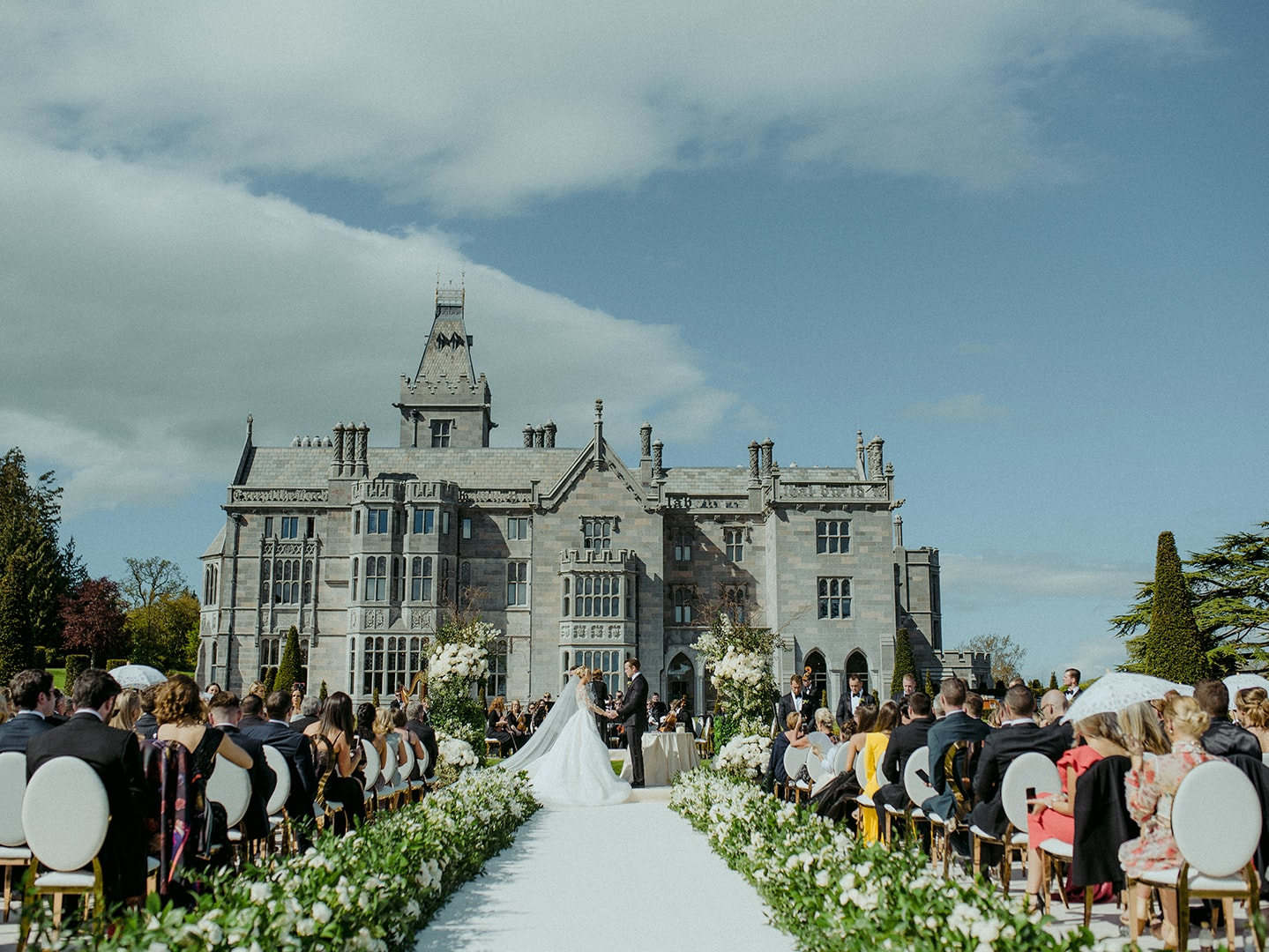Adare Manor Wedding Ceremony Min