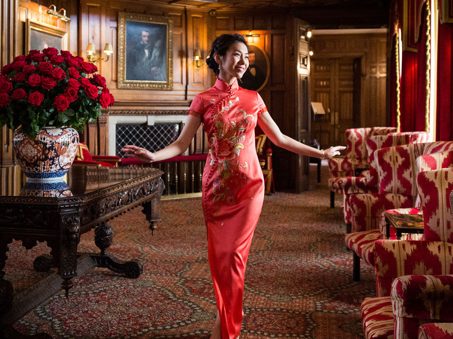 Chinese Wedding Ashford Castle Ireland