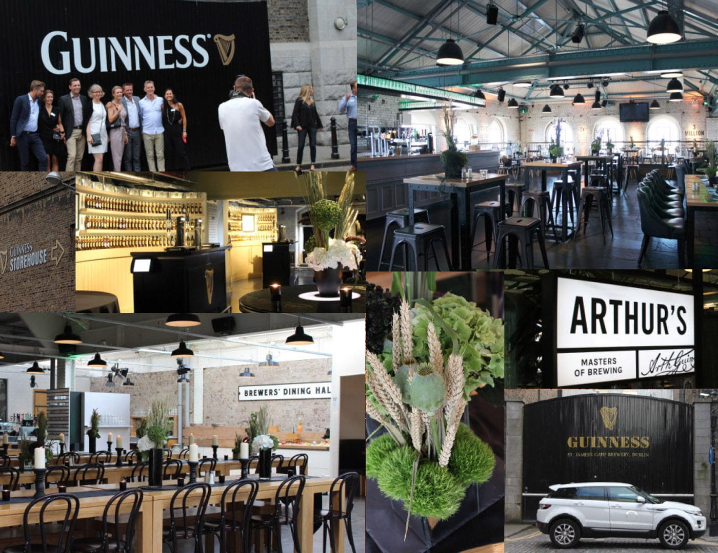 Guiness storehouse, Corporate Events, Corporate Event Management, Private Parties, Event planner in Ireland, Party Planner