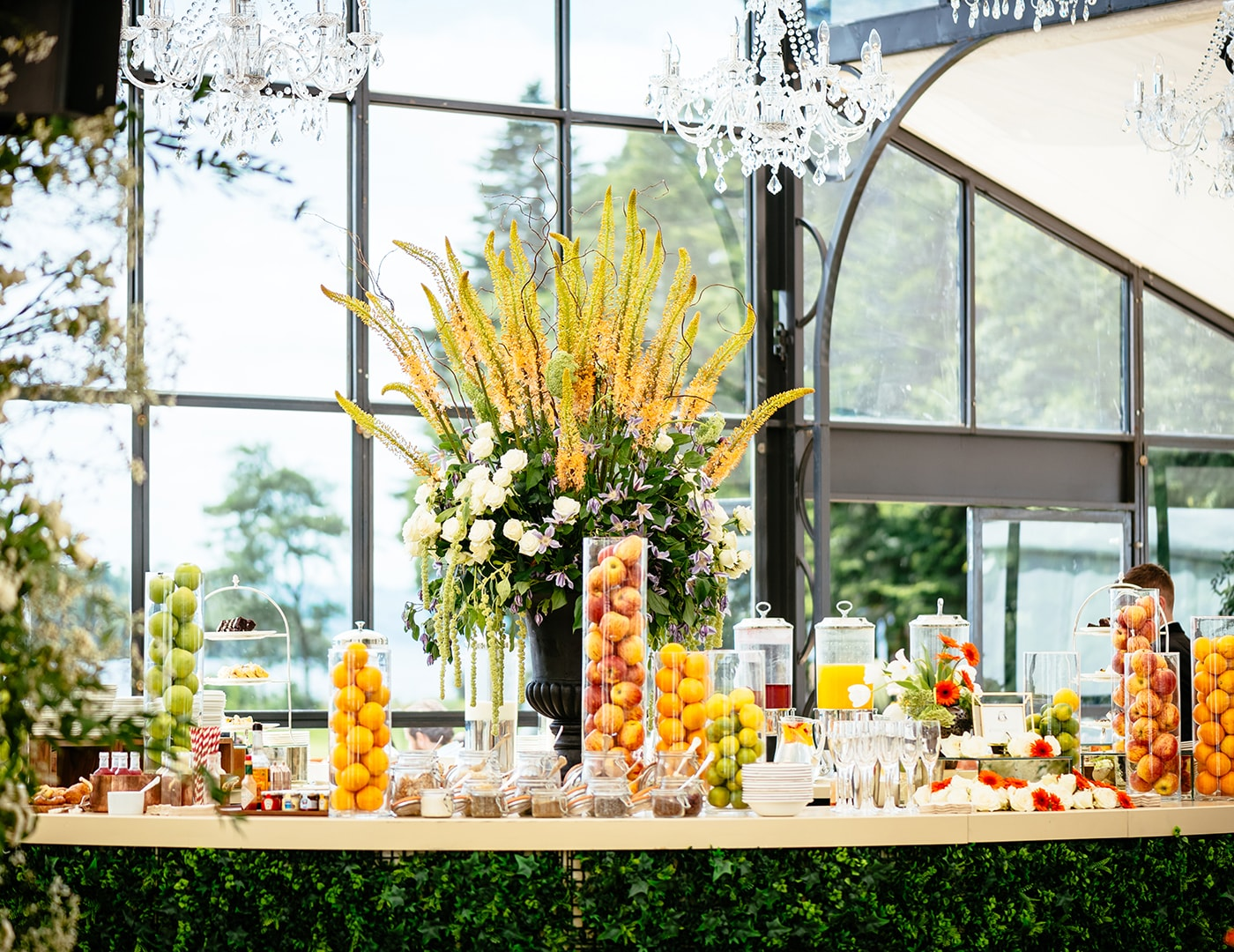 Lakeside Brunch, Ashford Castle, Wedding ceremony, Marquee ceremony, Event planner in Ireland, Wedding Planner in Ireland, Destination Weddings, Olivia Buckley International
