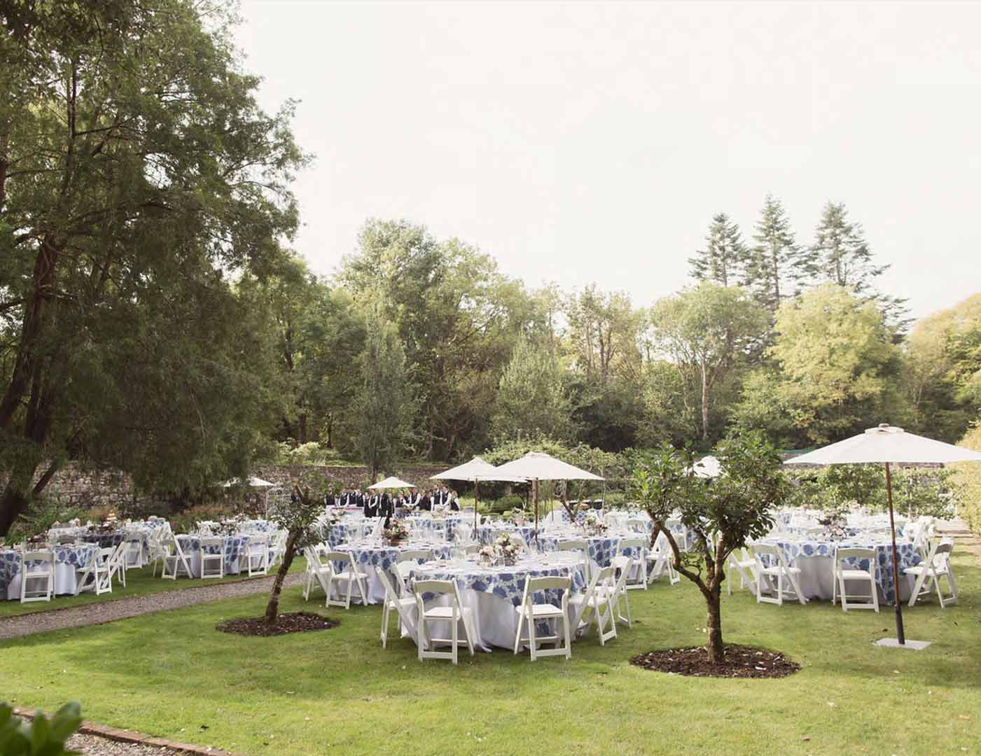 Ashford Castle, Marquee ceremony, Event planner in Ireland, Wedding Planner in Ireland, Destination Weddings, Olivia Buckley International