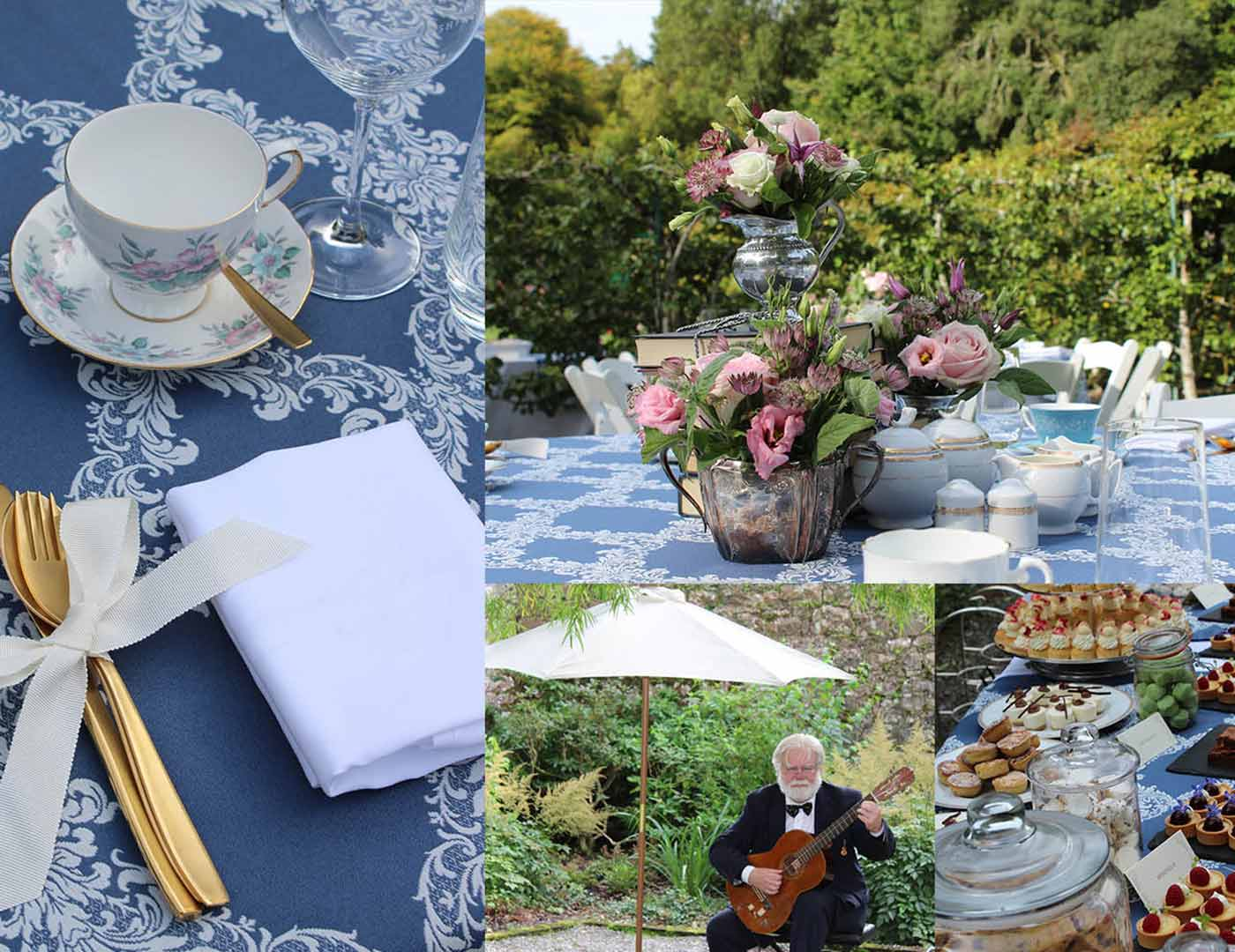 Ashford Castle, Tea Party, Marquee ceremony, Event planner in Ireland, Wedding Planner in Ireland, Destination Weddings, Olivia Buckley International