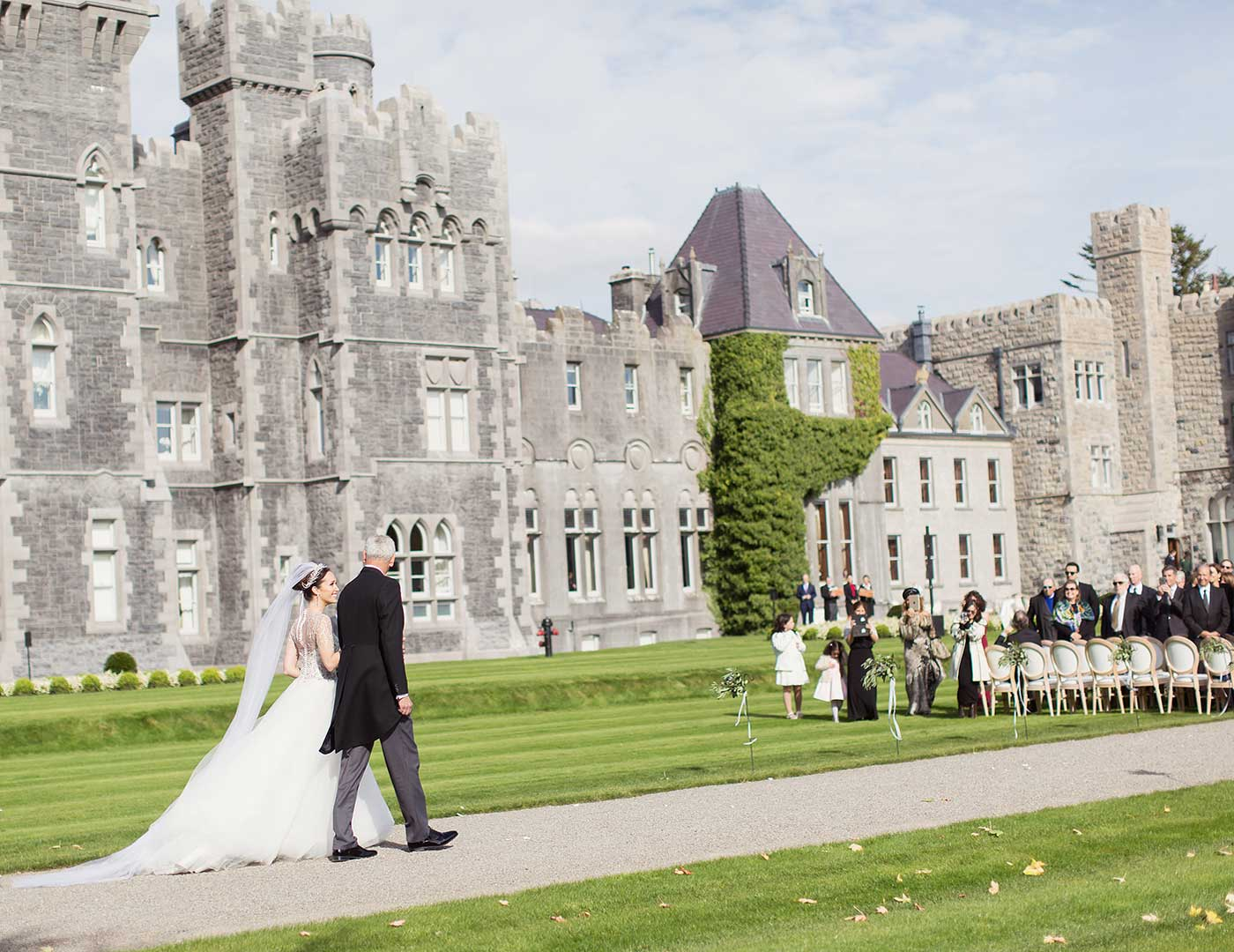 Destination Weddings Ireland, Irish Castle Weddings, Ashford Castle, Olivia Buckley International, Wedding Planner Ireland