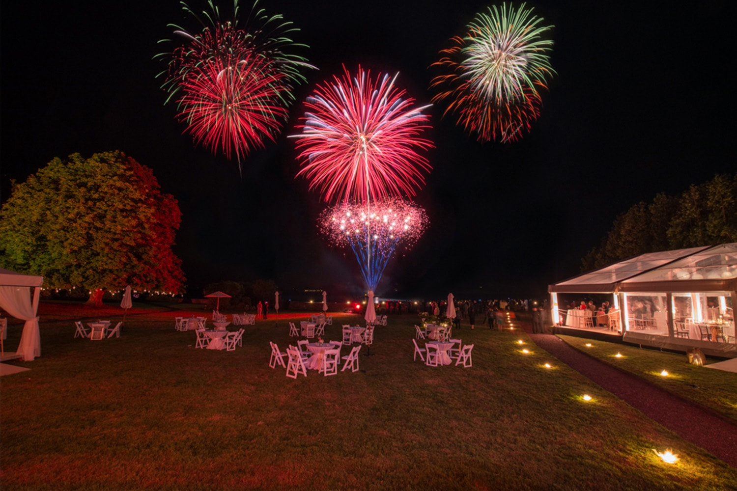 Fireworks, Olivia Buckley International, Event Planner in Ireland, Wedding Planner in Ireland