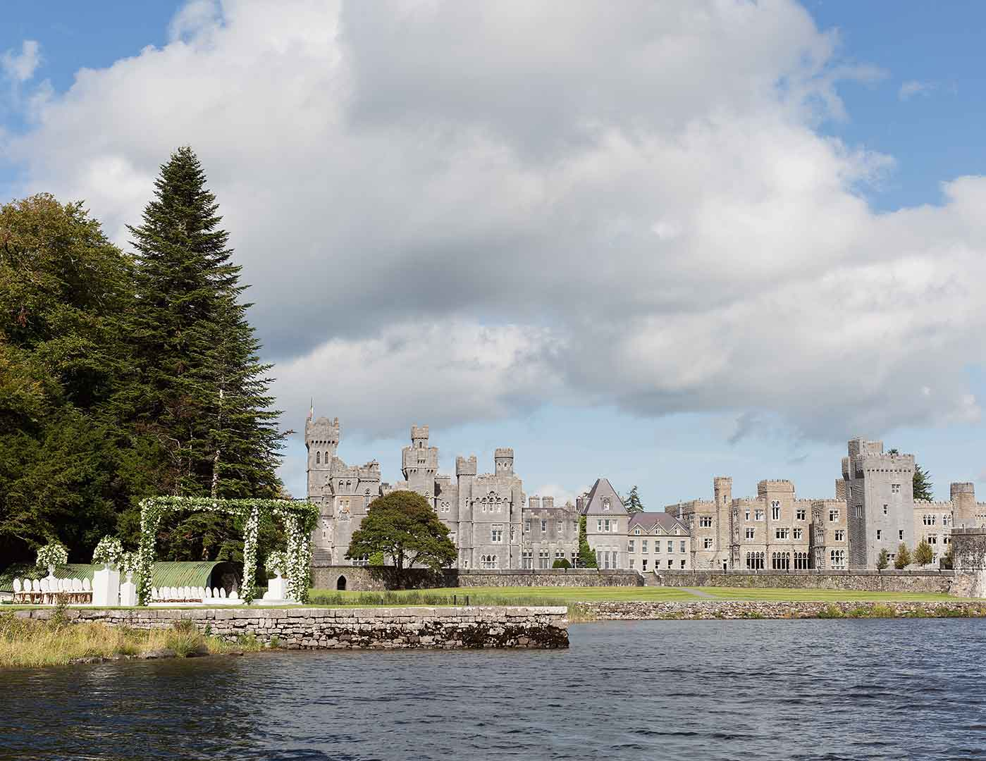 Lakeside Ceremony Ashford Castle Min