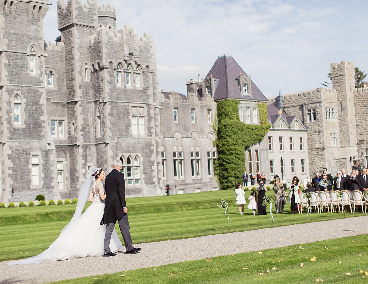 Ashford Castle Wedding, wedding ceremony, Destination wedding planning, Olivia Buckley International, Destination Wedding, Event Planner in Ireland
