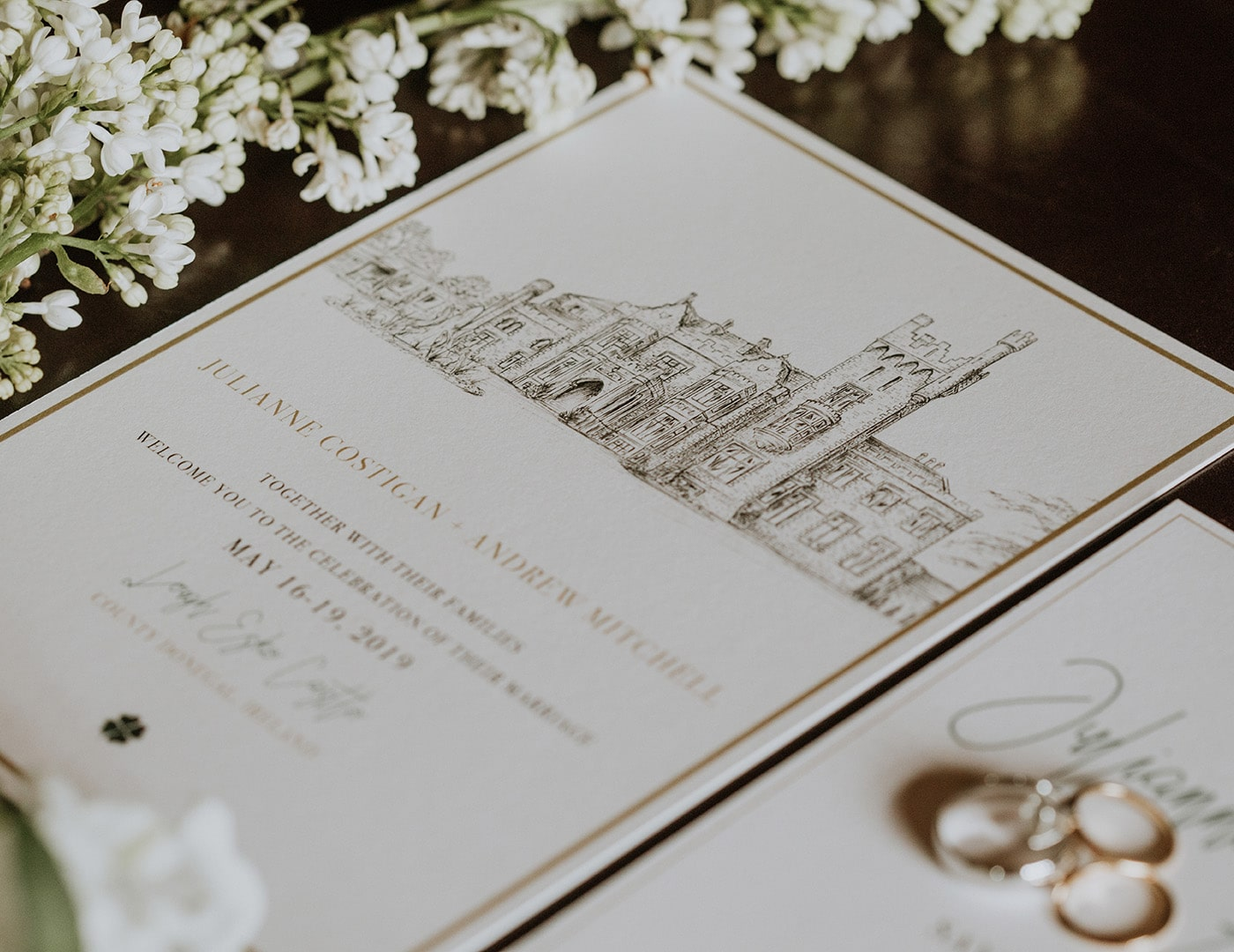 Destination Wedding Ireland, Irish Castle Wedding,  Olivia Buckley International